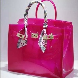 Handbags - TWO FOR ONE!!!!Stylish jelly bags